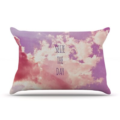 Iris Lehnhardt 'Seize The Day' Pillow Case