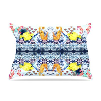 DLKG Design Marine Life Pillow Case