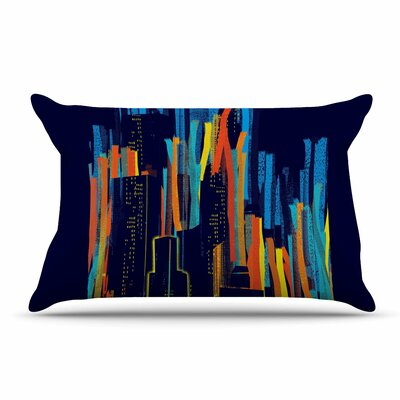 Frederic Levy-Hadida Strippy City Pillow Case