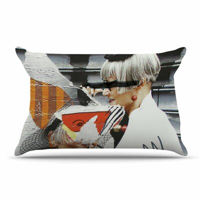 Jina Ninjjaga Style Pop Art Pillow Case