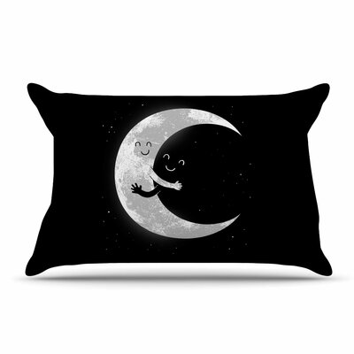 Digital Carbine Moon Hug Pillow Case