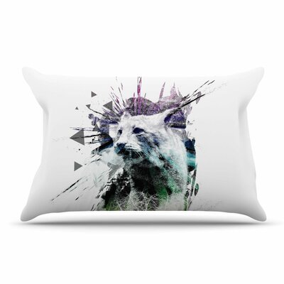 Frederic Levy-Hadida Art Name Cat Pillow Case