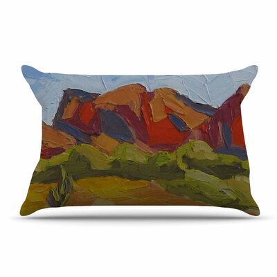 Jeff Ferst Arizona Desert Mountain Pillow Case