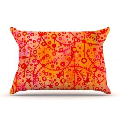 Ebi Emporium Make A Wish Pillow Case Color: Orange/Red