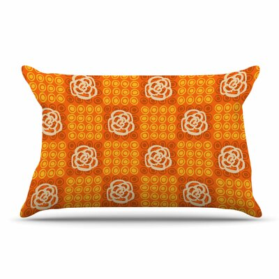 Jane Smith Polka Dot Rose Pillow Case
