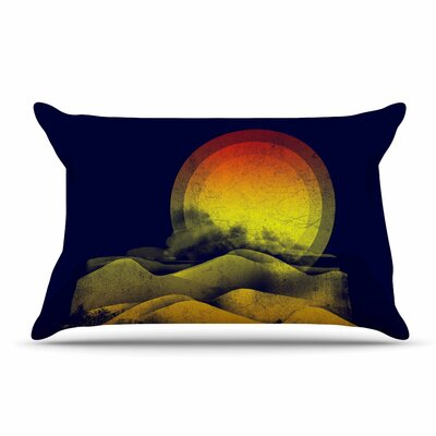Federic Levy-Hadida Sunset Landscape Pillow Case
