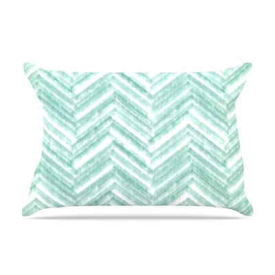 Heidi Jennings Painted Chevron Pillow Case