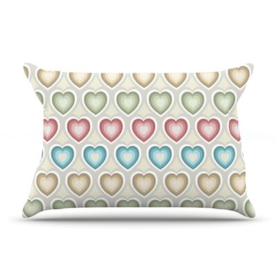 Julia Grifol My Hearts Pillow Case