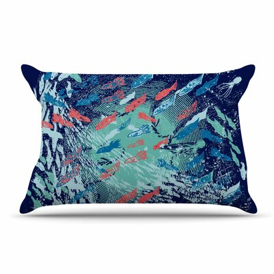 Frederic Levy-Hadida Underwater Life Fish Pillow Case