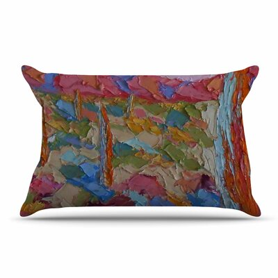 Jeff Ferst Saguaros In Spring Pillow Case