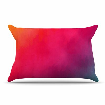 Fotios Pavlopoulos Loon Rainbow Abstract Pillow Case