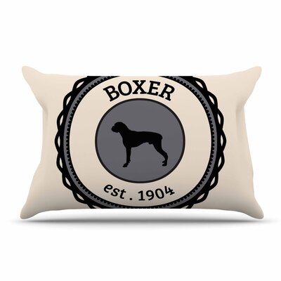 Boxer Dogs Pillow Case