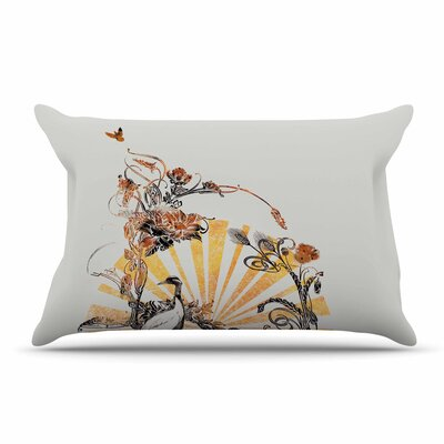 Federic Levy-Hadida Art Nouveau Tune Pillow Case