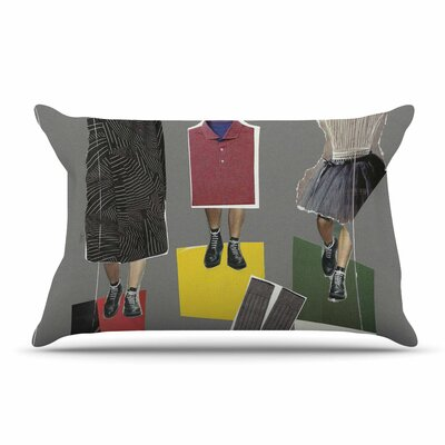 Jina Ninjjaga Fashion Pop Art Pillow Case