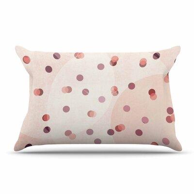 Iris Lehnhardt Dotty Coral Pillow Case