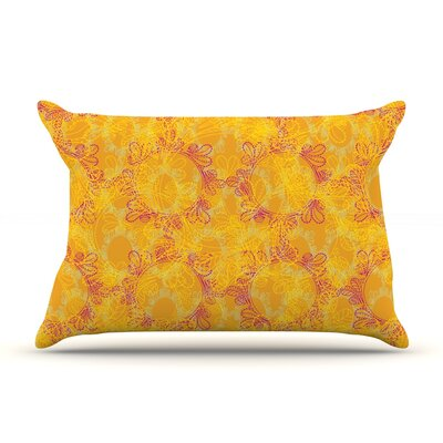 Patternmuse Jaipur Saffron Pillow Case