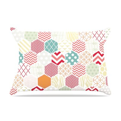 Heidi Jennings Geo Pastel Geometric Pillow Case