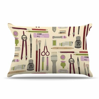 Judith Loske Art Supplies Pillow Case