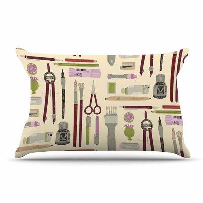 Judith Loske Art Supplies Pillow Case