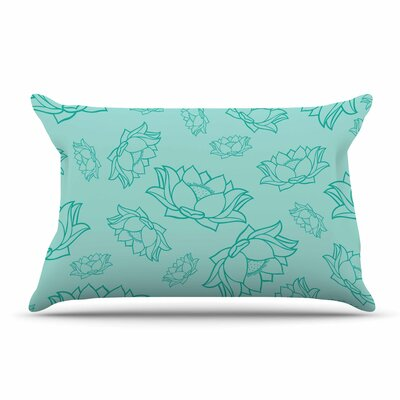 Lotus Yoga Flowers Pillow Case