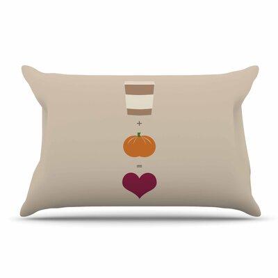 Pumpkin Spice Latte Pillow Case