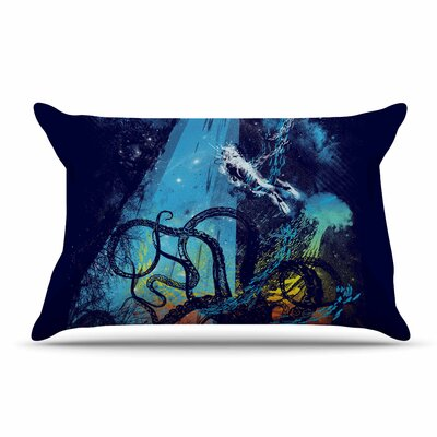 Frederic Levy-Hadida Danger From The Deep Underwater Pillow Case