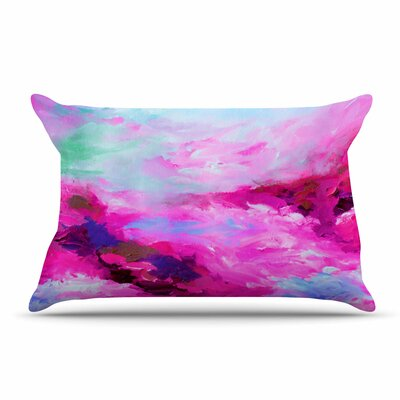 Ebi Emporium Taken By The Undertow 4 Pillow Case Color: Pink/Magenta