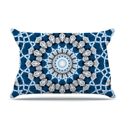 Iris Lehnhardt Mandala Ii Abstract Pillow Case