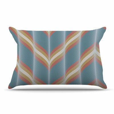 Karina Edde Wavy Chevron Pillow Case