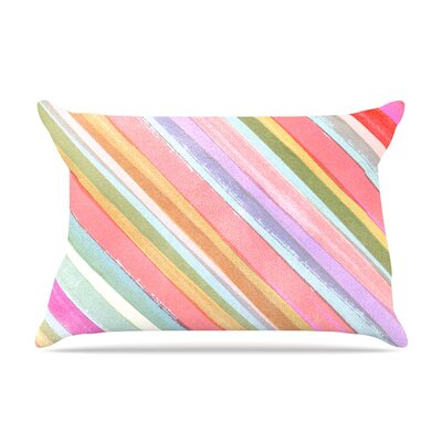 Heidi Jennings Pastel Stripes Pillow Case