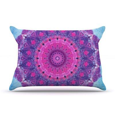 Iris Lehnhardt Grunge Mandala Pillow Case