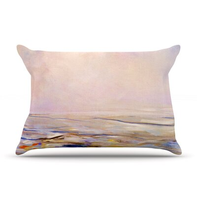 Iris Lehnhardt Hazy Sunrise Pillow Case