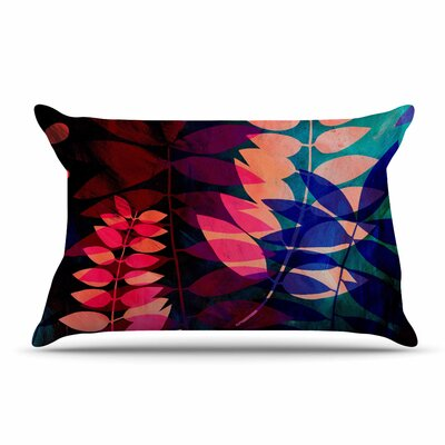 Jessica Wilde Dark Jungle Nature Pillow Case