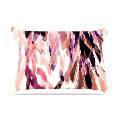 Iris Lehnhardt Abstract Leaves I Pillow Case