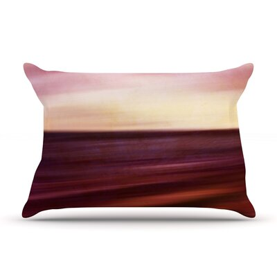 Iris Lehnhardt Seascape Sunset Pillow Case