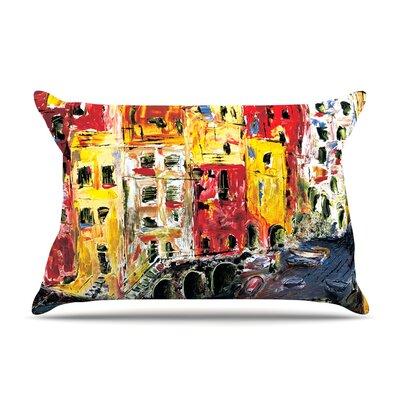 Josh Serafin Cinque Terre Pillow Case