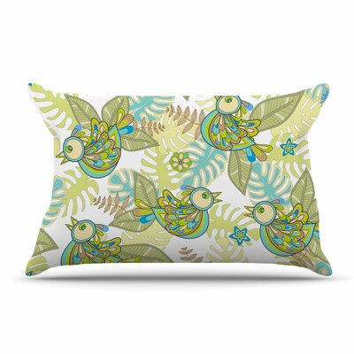 Julia Grifol Summer Birds Pillow Case