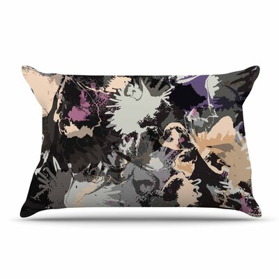 Jessica Wilde Punk Floral Pillow Case
