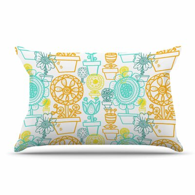 Jane Smith Potted Florals Pillow Case