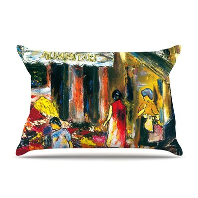 Josh Serafin Alimentari Painting Pillow Case