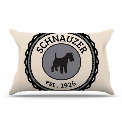 Schnauzer Pillow Case