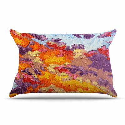 Jeff Ferst Evening Multicolor Sky Sunset Sky Pillow Case