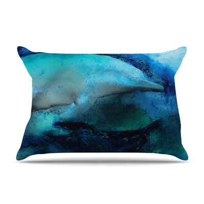 Josh Serafin Dolphin Pillow Case