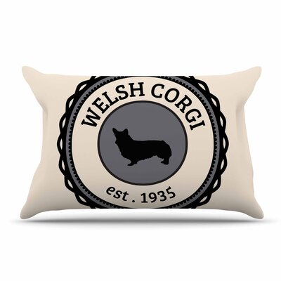 Welsh Corgi Dog Pillow Case