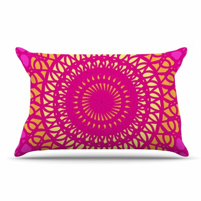 Pattern Muse Radiant Pomegranate Pillow Case