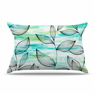Jessica Wilde Tropical Leaf Garden Nature Pillow Case