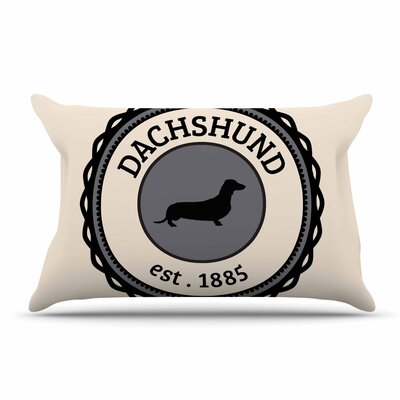 Dachshund Pillow Case