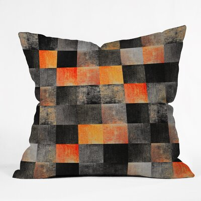 Fireplace Throw Pillow Size: 16 H x 16 W x 4 D