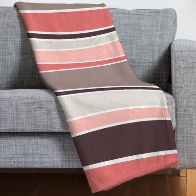Caroline Okun Neapolitan Throw Blanket Size: 50 H x 60 W x 1.5 D
