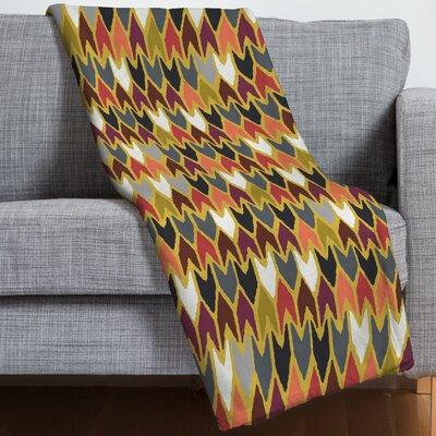Sharon Turner Saffron Pepper Throw Blanket Size: 60 H x 80 W x 1.5 D